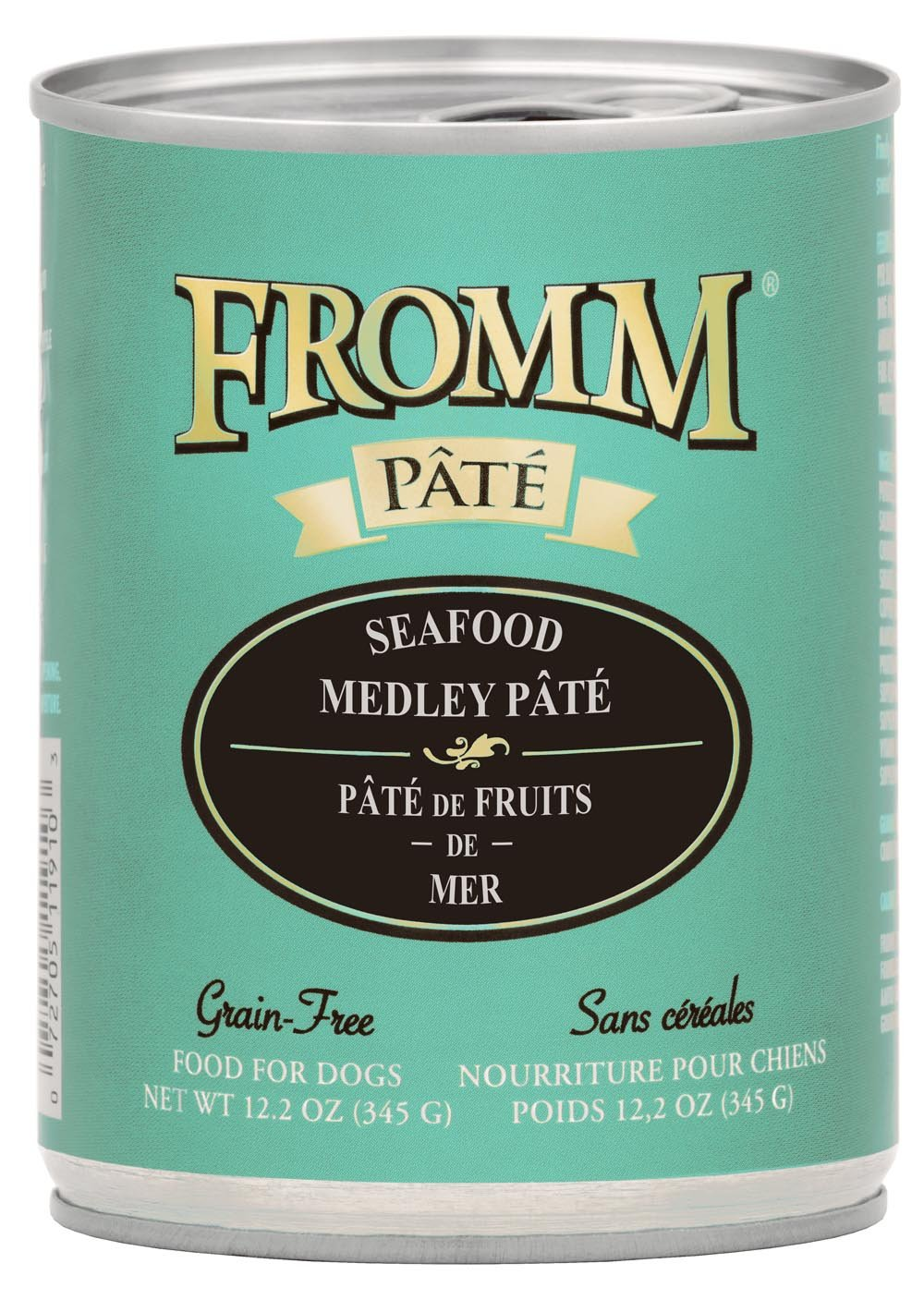 Fromm GF Seafood Mdly Pate' Dog 12.2o