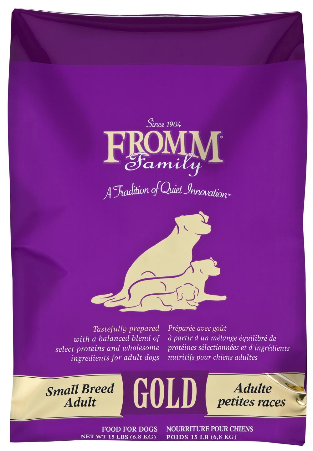 Fromm Gold Adult Small Breed Dog 15#
