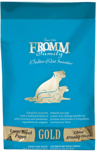 Fromm Gold Large Breed Puppy 33#