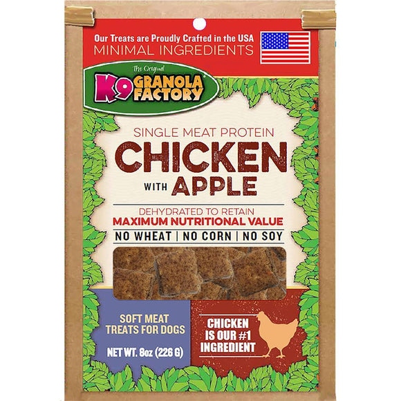 K9 Gran Fac Chicken Apple Soft Meat 8oz