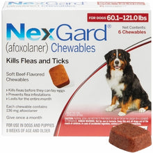 Load image into Gallery viewer, NexGard Chewable 6 Pack (Ground shipping only, 3-7 business days)