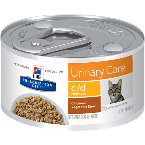 c/d Feline Urinary Chickn/Veg Stew 2.9oz