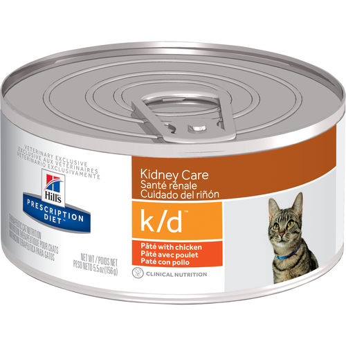 k/d Feline Renal Health w/Chicken 5.5oz