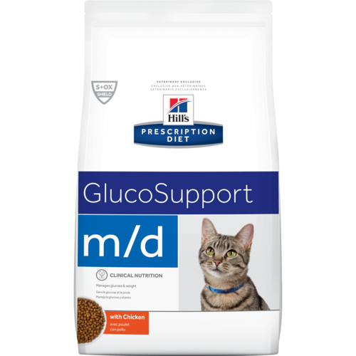 m/d Feline Wt Loss-Low Carb-G M 4#