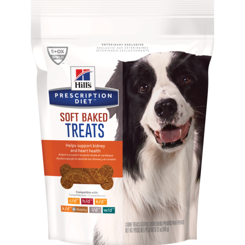 Prescription Diet Dog Sft Bkd Treats 12o