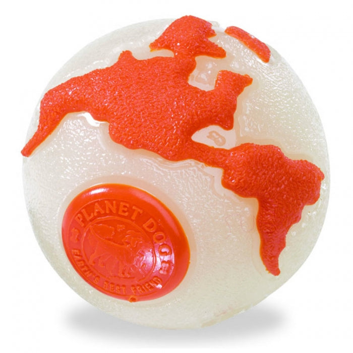 Planet Dog Orbee Globe Glow Ball