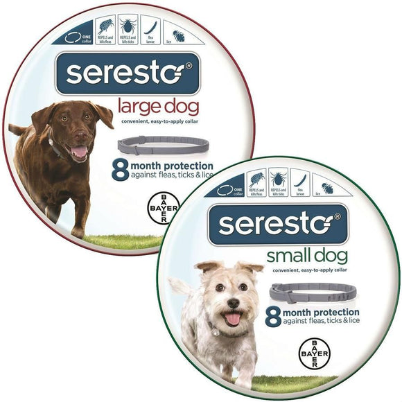 Seresto Flea & Tick Collar for Dogs  **$15 REBATE**