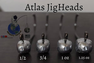 Gravity Tackle Atlas Jigheads