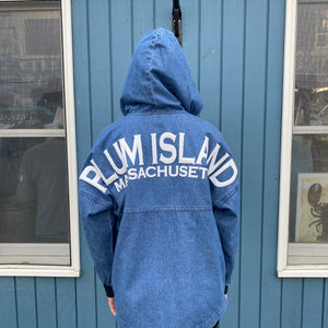 Denim Hooded Spirit Jersey®