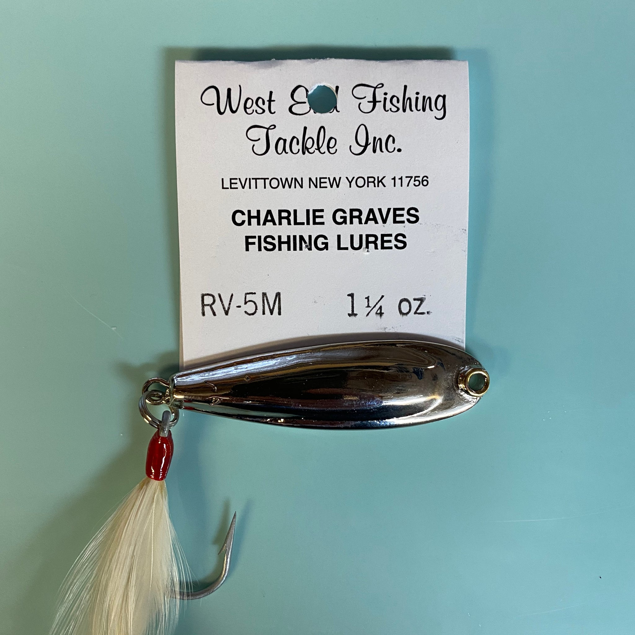 Charlie Graves Chrome Plated Lures