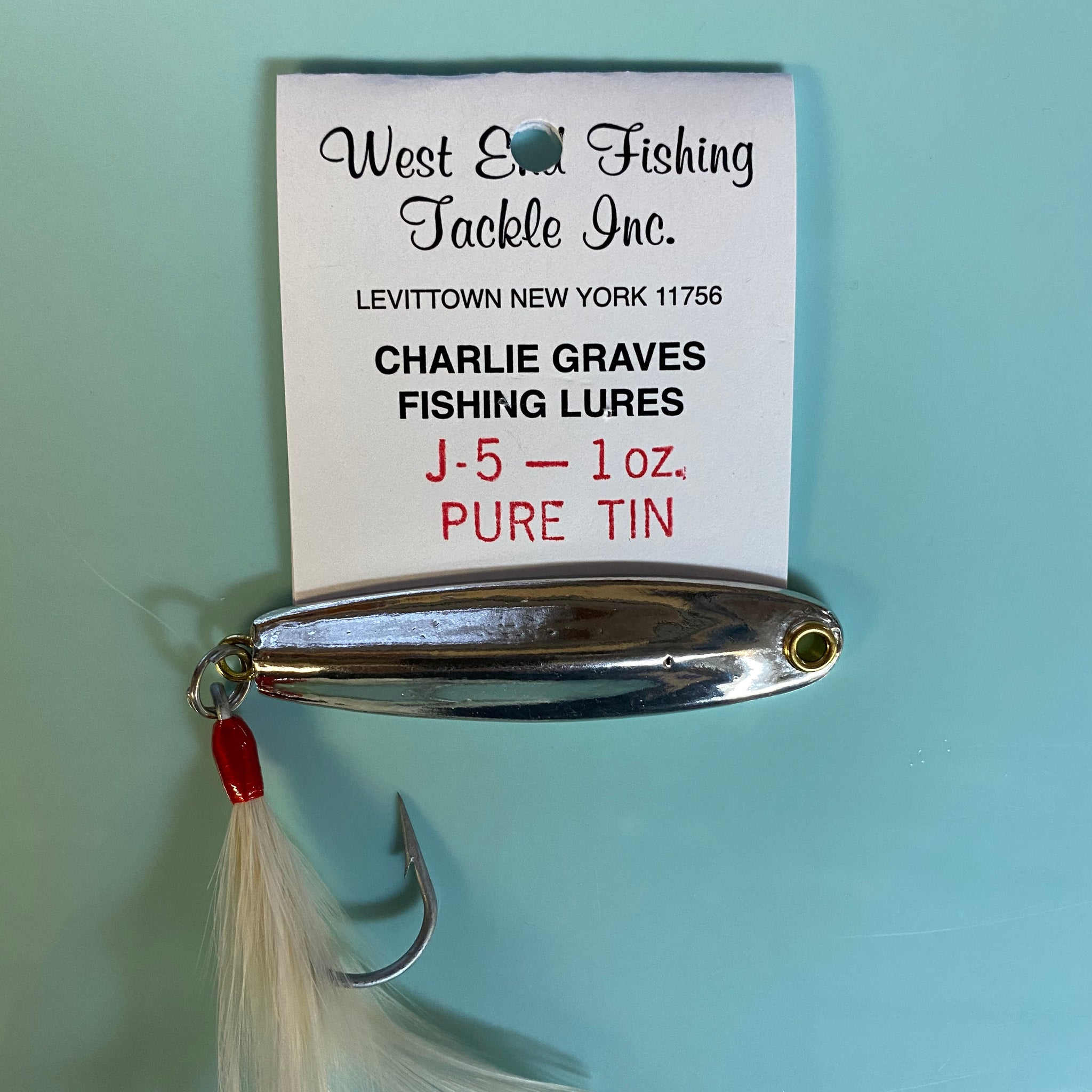 Charlie Graves Tin Lures
