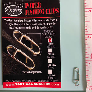 Tactical Anglers Power Clips