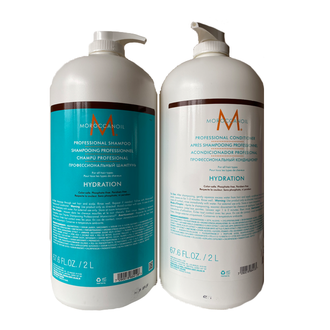 MOROCCANOIL Hydration Shampoo and Conditioner Double Pack (2x2L)