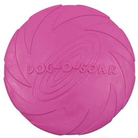 Silicone flying saucer for dogs