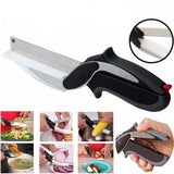Stainless steel kitchen scissors 2 in 1 - getittrends