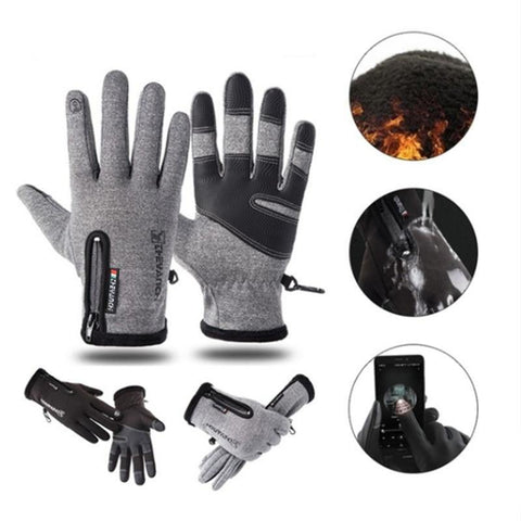 Winter Warm Waterproof Touch Screen Gloves - getittrends