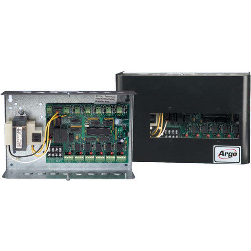 6 Zone Valve Controller with Built-in Circulator or Zone Valve Priority Option ARGO ᆬ__ᆬ_トᆬ__ AZ6CP