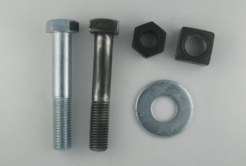 "(PM122BN) 1 X 4, Bolt Nut and Washer for 12 x 16 Manhole Plate with 3"" Ring"