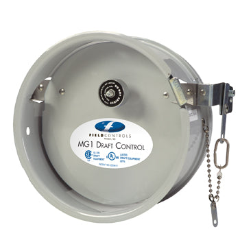 "8"" MG-1 Barometric Draft Control for Gas - Field Controls"