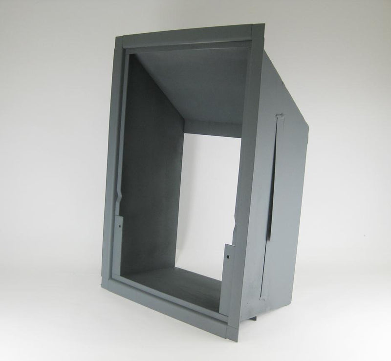 Wall Buck, Steel in-wall Insert for Sargent HD8UL Hopper Doors. HS813