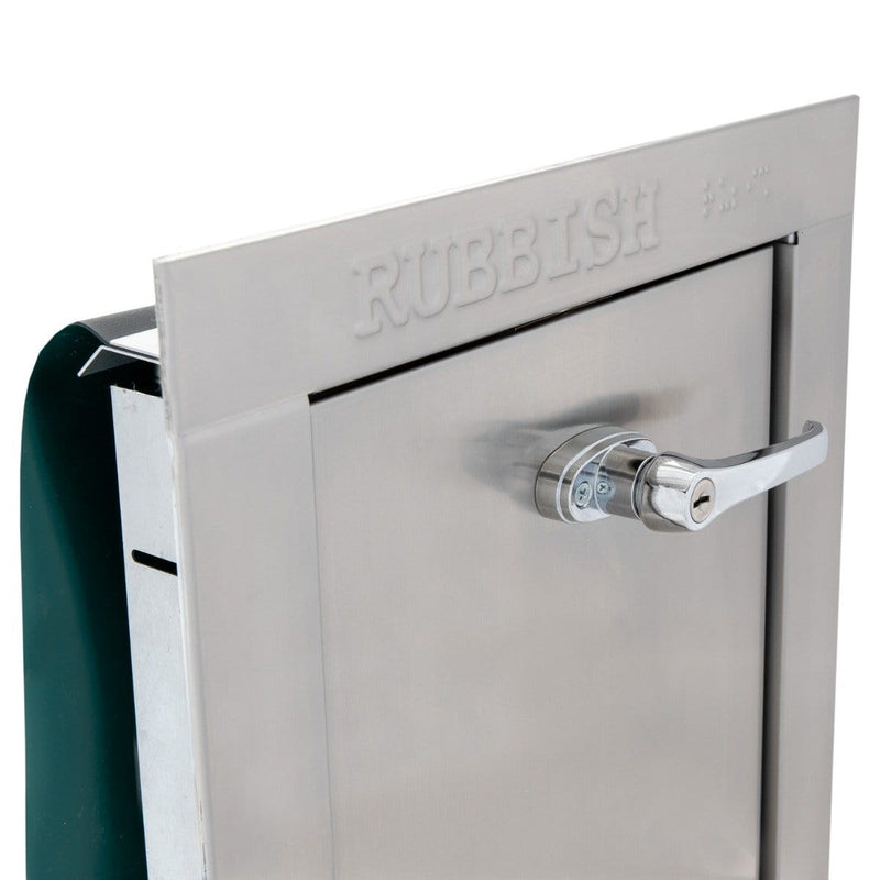 Universal Stainless Steel Trash Chute Door - ADA Compliant