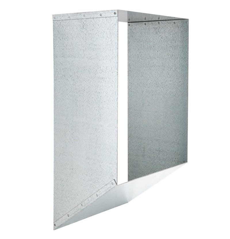 Wall Sleeve for Universal Stainless Steel Trash Chute Door