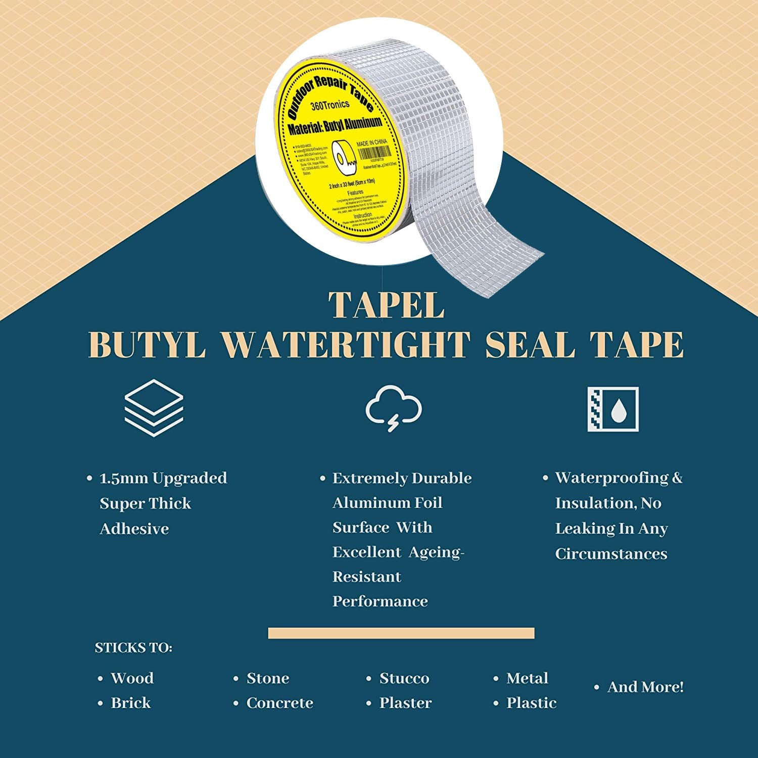 Magical Waterproof & Repair Tape【Last Day 50% OFF】