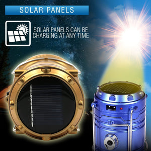 Outdoor Solar Camping Light(LAST DAY PROMOTIONS)