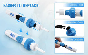 Ear Wax Remover Vacuum Cleaner(Buy 2 Free shipping)