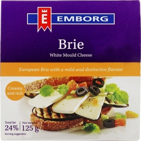 Emborg Brie Cheese 125g