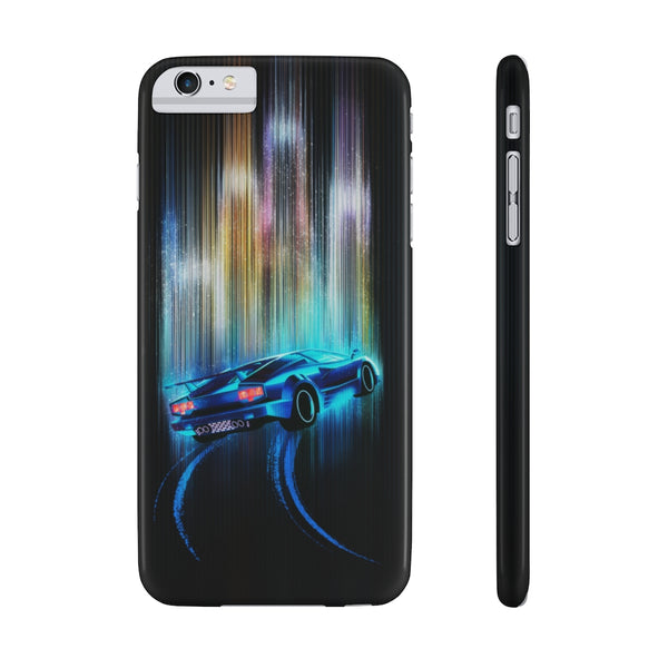 Lamborghini Countach. Slim Phone Case (USA)