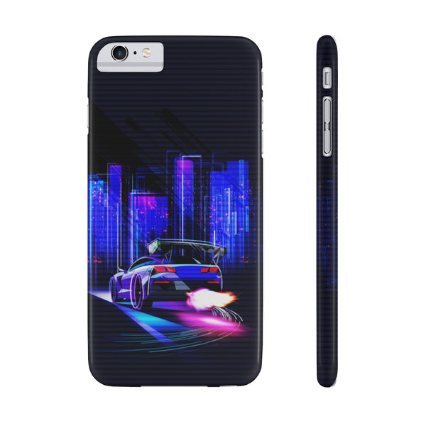 Ready for a night ride. Slim Phone Case (USA)