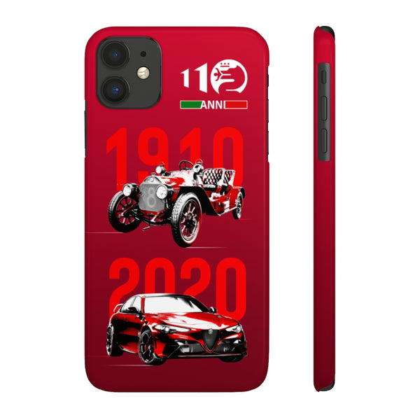 Alfa Romeo 100 years. Slim Phone Case