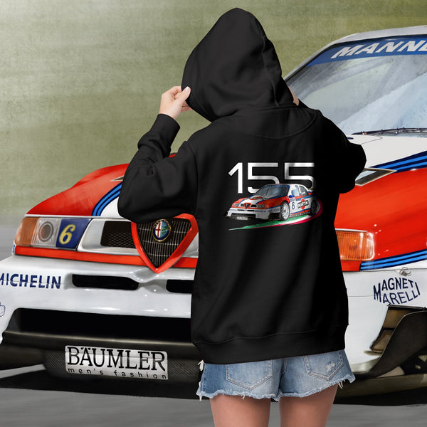 Alfa Romeo 155. Women's hooded sweatshirt