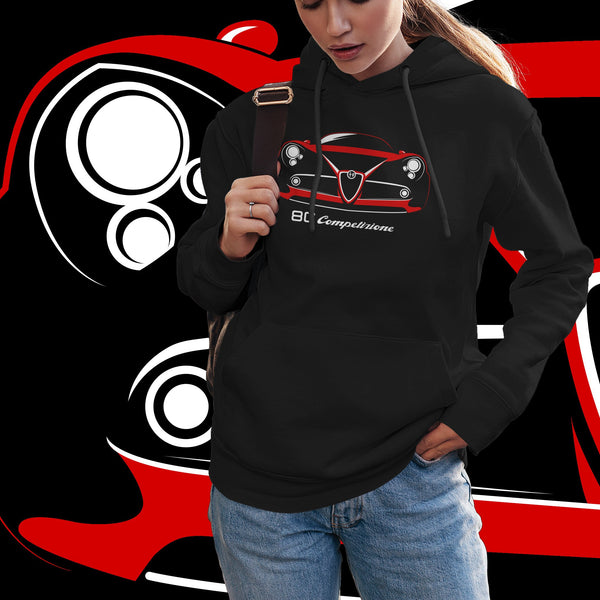 8C Competizione. Women's hooded sweatshirt