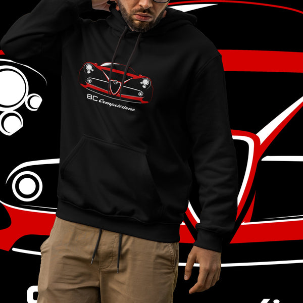 8C Competizione. Men's hooded sweatshirt