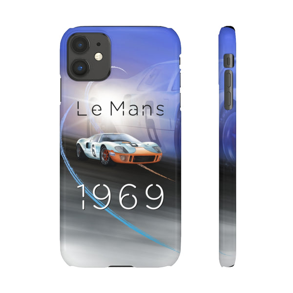 Ford GT40 Le Mans. Snap phone case (USA)