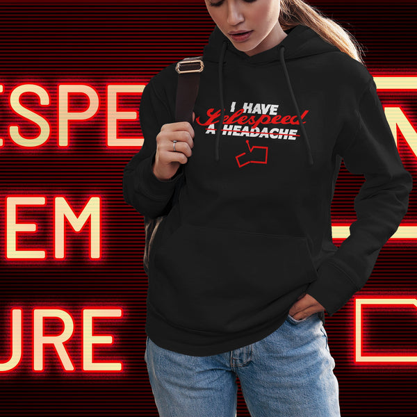 Selespeed failure. Women's hooded sweatshirt