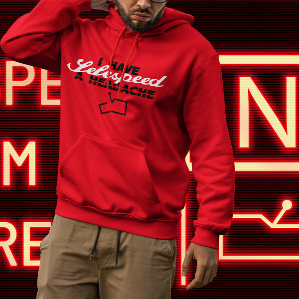 Selespeed failure. Men's hooded sweatshirt