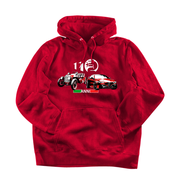 Alfa Romeo 110. Men's hooded sweatshirt