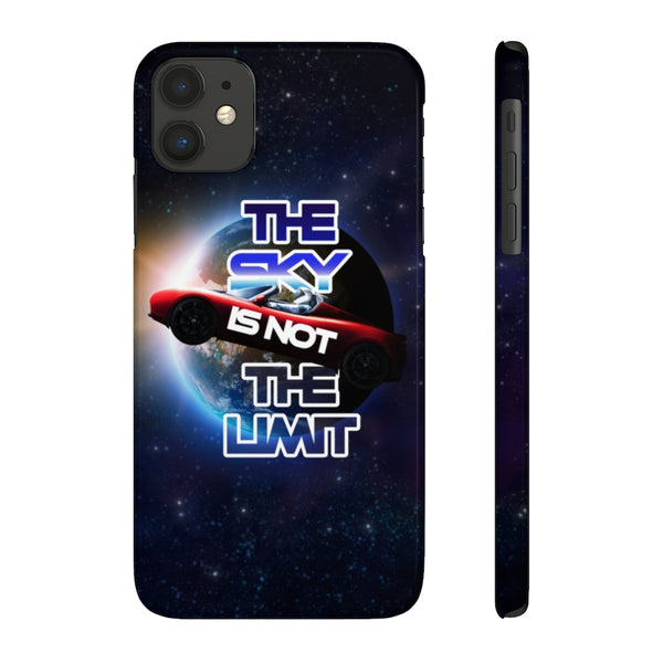The sky is not the limit. Slim Phone Case (USA)