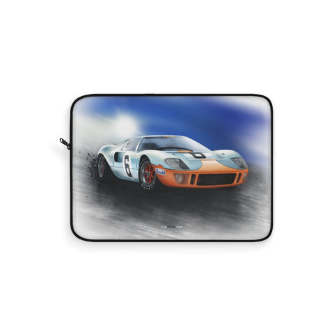 Ford GT40 Le Mans. Laptop Sleeve (USA)