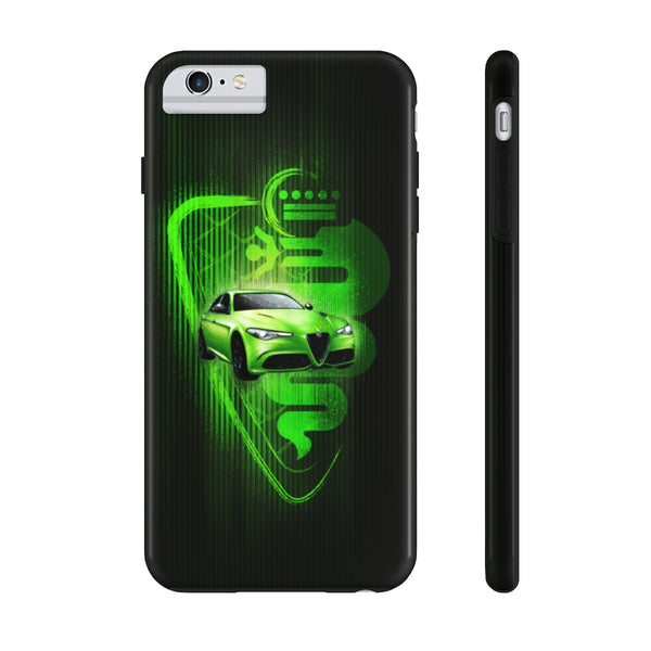 Alfa Romeo Giulia 6 Underground. Tough Phone Case (USA)