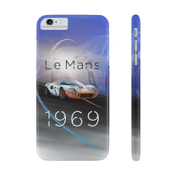 Ford GT40 Le Mans. Slim Phone Case (USA)