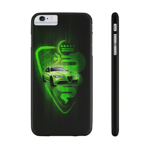 Alfa Romeo Giulia. Slim Phone Case (USA)