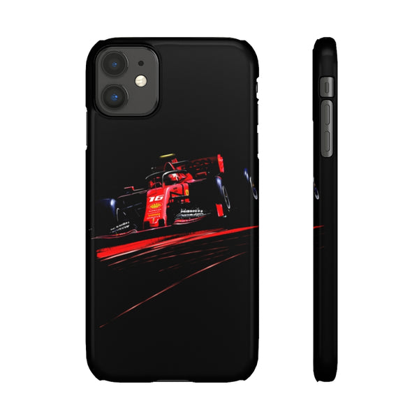 Charles Leclerc. Snap phone case (USA)