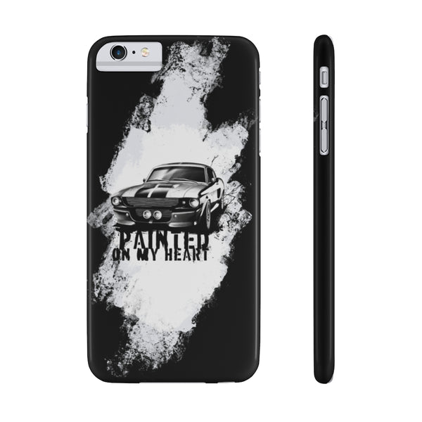 Shelby GT500 Eleanor. Slim Phone Case (USA)