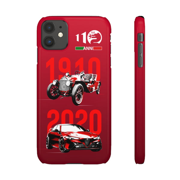 Alfa Romeo 110 years. Snap phone case