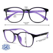 Load image into Gallery viewer, Riley - Black/Purple