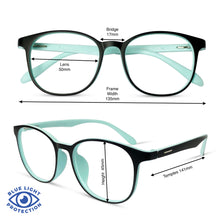 Load image into Gallery viewer, Riley - Black/Turquoise